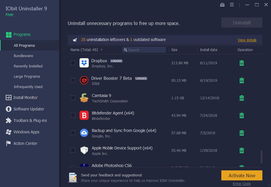 Iobit Uninstaller Pro 9.4.0.12 Key + Crack Latest 2020 Free Download