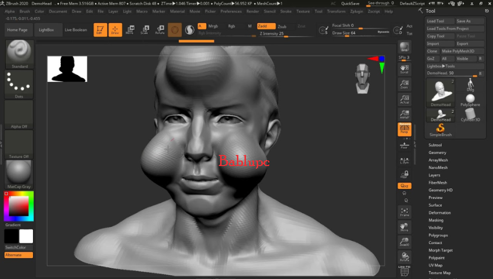 ZBrush 2018 Mac OS X (2018.1) With Full Crack Download