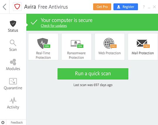 Avira Antivirus Pro 15.0.2104.2089 Crack + Serial Key Free 2021 [Update]