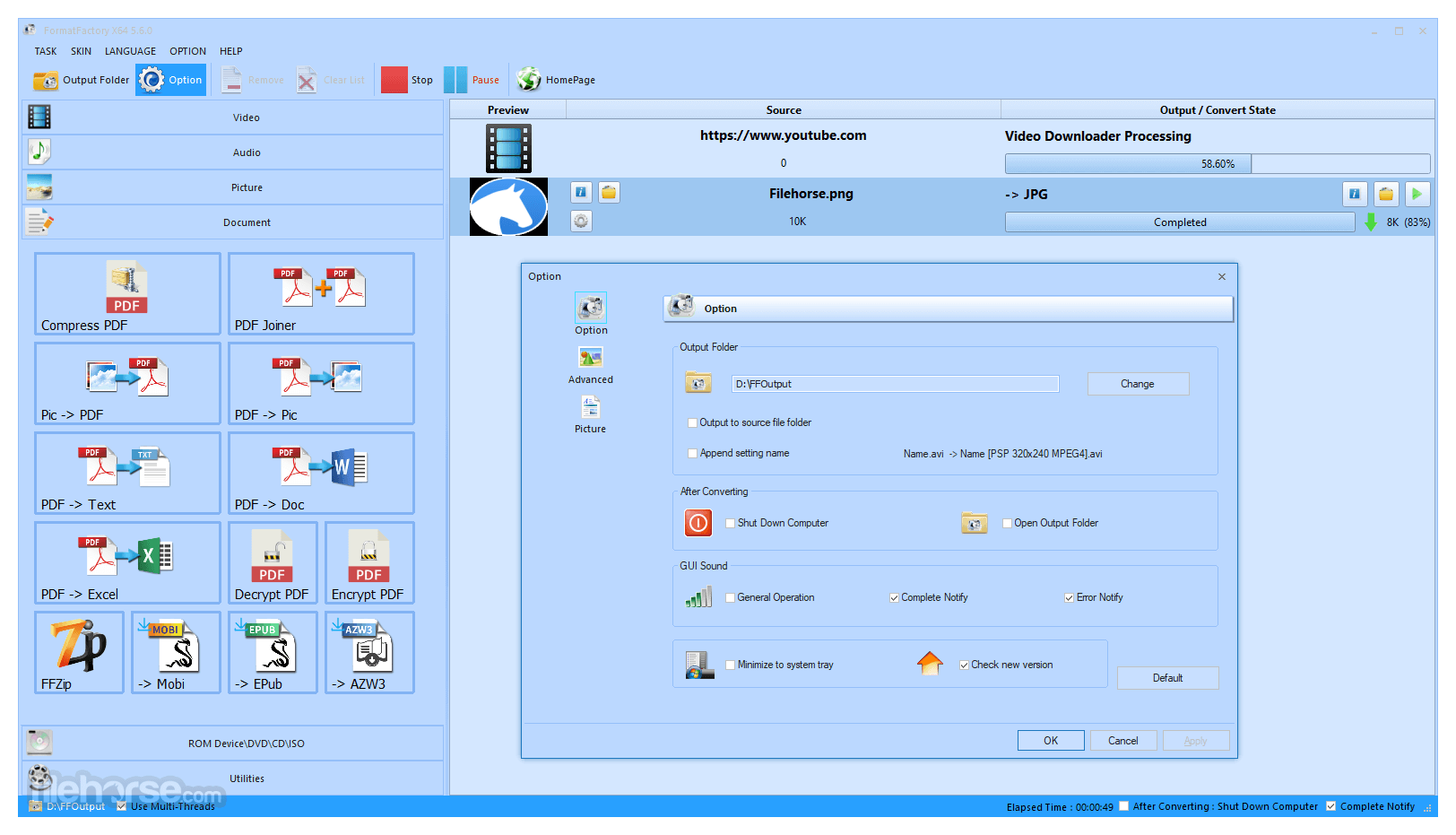 Format Factory 5.7.1.0 Crack + Serial Key & Keygen Full [2021] Updated