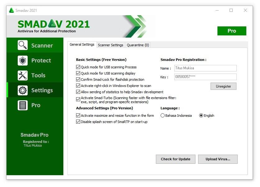 Smadav Pro 2021 Rev 14.6.2 Crack + Serial Key Free Download (Latest]