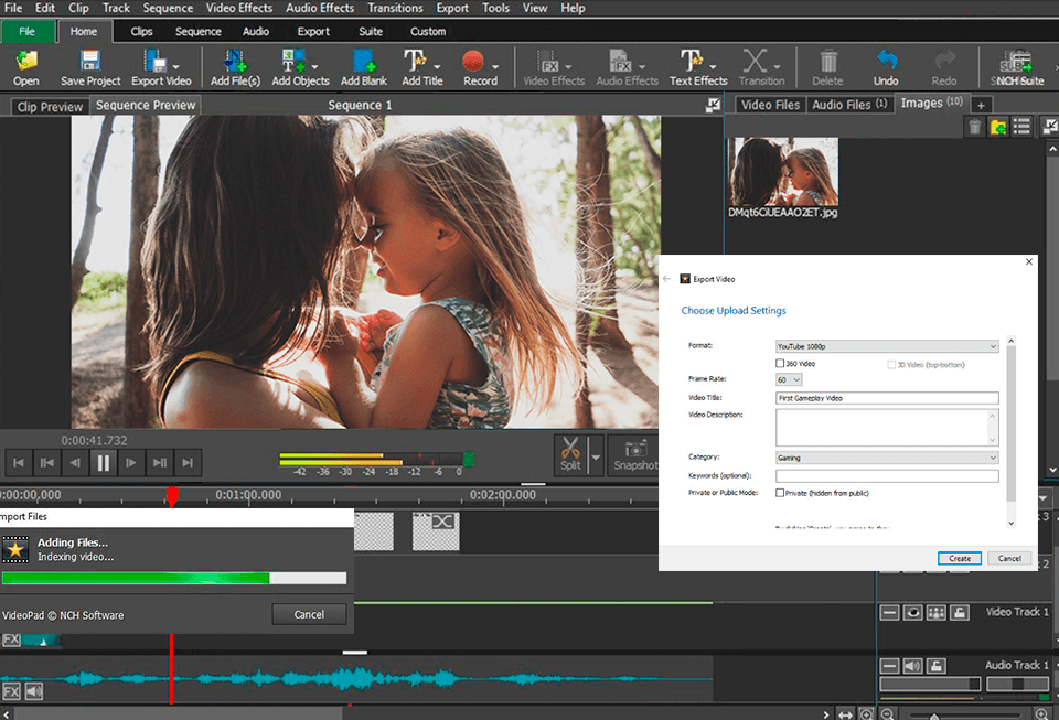VideoPad Video Editor 9.07 Crack + Registration Code 2021 [Latest]
