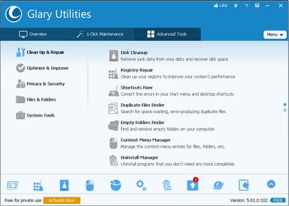 Glary Utilities Pro 5.168.0.194 Crack With Full Keygen 2021 Torrent Free