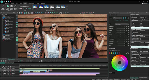 VSDC Video Editor 6.6.7.275 Crack + Serial Key Free Download 2021
