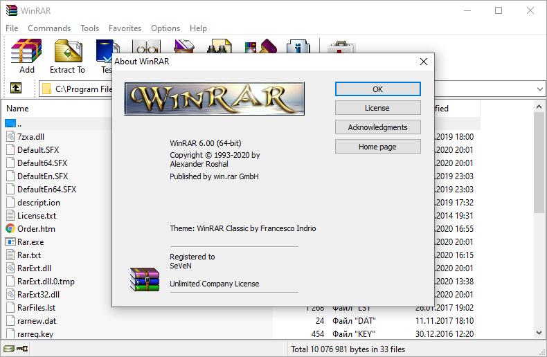 WinRAR 6.01 Crack With Full Keygen Free 2021 {Latest Version}